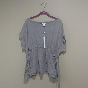 ☀️Caslon gray t shirt